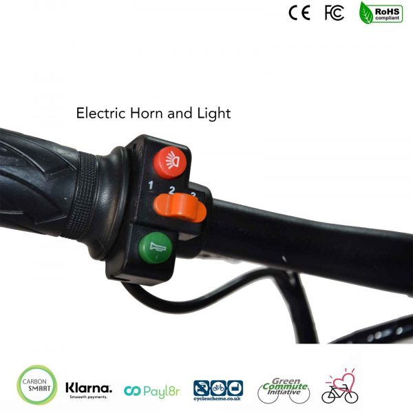 electric led light and horn